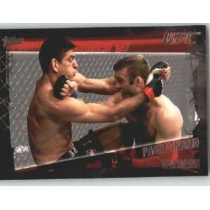 com 2010 Topps UFC Trading Card # 87 Paulo Thiago (Ultimate Fighting
