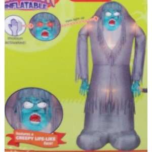 8ft Gemmy Airblown Inflatable Halloween Realistic Zombie