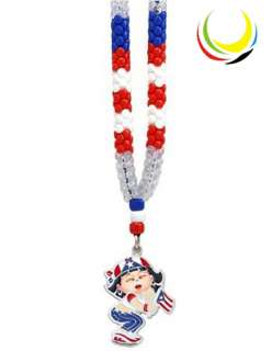 Souvenir Necklaces   PUERTO RICO GIRL