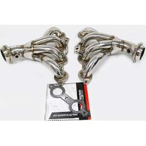 OBX Exhaust Header 01 04 Chevy CORVETTE LS1 LS6 Z06 V8