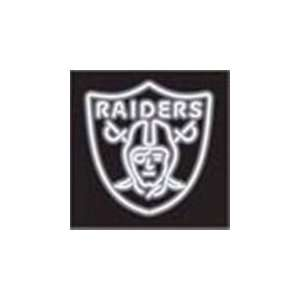 NFL Oakland Raiders Logo Neon Lighted Sign
