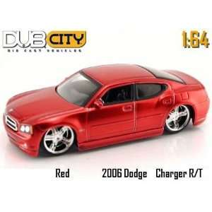 Dub City Kustoms 164 Scale Red Dodge Magnum R/T Die Cast Car