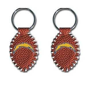 San Diego Chargers   NFL Stitched Football Shape Key Ring
