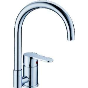 Faucetland 008001905 Contemporary Waterfall Single Handle Kitchen Sink