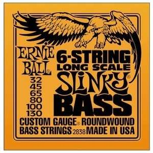 Ernie Ball Slinky Round Wound Long Scale 6 String Electric