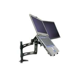 Desk Mount Easy Adjustable Arm For Dual LCD Monitor