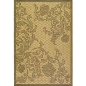 Couristan   Recife   Rose Lattice Area Rug   76 x 109