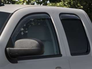 Window Deflectors   2008 2011  Chevy Silverado Extended Cab