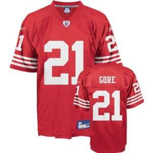 Reebok San Francisco 49ers Frank Gore Youth Replica Jersey
