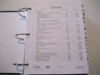 CASE 580K Loader Backhoe SERVICE MANUAL Book (PHASE 1)