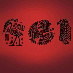 Vinyl Wall Art Decal Sticker Mayan Animal Symbols