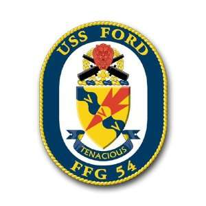 US Navy Ship USS Ford FFG 54 Decal Sticker 5.5