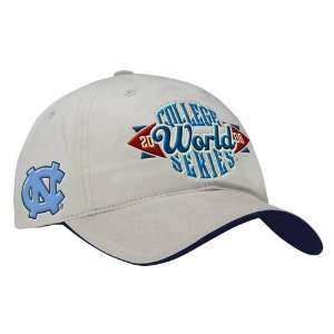 Nike North Carolina Tar Heels (UNC) 2006 CWS Khaki Hat