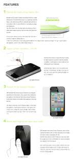 SGP Ultra Optics Anti fingerprint Protector film [Front,Back] for