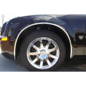 Cadillac CTS Chrome Wheel Well 03 07 Automotive