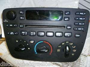 01 03 Ford Taurus Mercury Sable Radio Cd 2F1T DA *