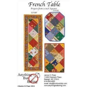 Quilting French Table Arts, Crafts & Sewing
