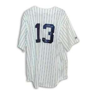 Jim Leyritz Autographed New York Yankees Pinstripe