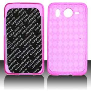 Premium   HTC Inspire 4G Crystal Skin Trans. Hot Pink
