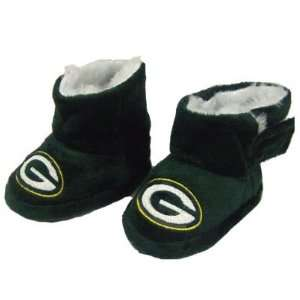 GREEN BAY PACKERS OFFICIAL BABY BOOTIES SZ EXTRA LARGE (12
