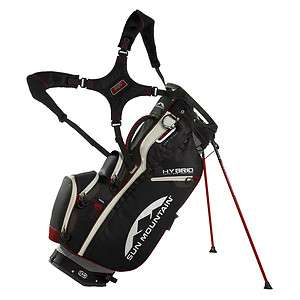 Sun Mountain 2012 HYBRID Golf Bag with Stand GUNMETAL RED BRAND NEW