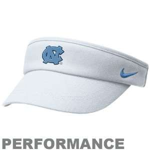 Nike North Carolina Tar Heels (UNC) White Coaches Performance