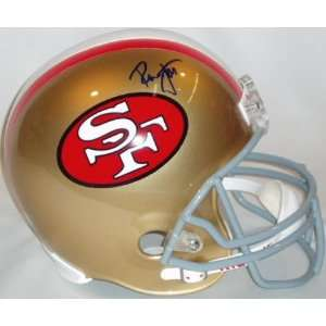 Ronnie Lott Autographed Helmet   Replica Sports
