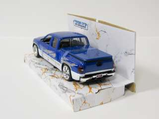 Silverado Lowrider Diecast Model Truck 124 Scale  Welly  Blue