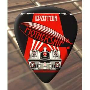 Led Zeppelin Mothership Premium Guitar Picks x 5 Medium