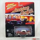 Johnny Lightning American Graffiti 1957 Chevy Bel Air damaged card