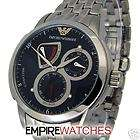New Emporio Armani Men Meccanico Annual Calendar Bracelet Watch $495