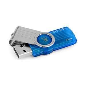 Kingston Data Traveler USB Flash Drive 4 GB 101 G2 High