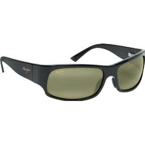 Maui Jim Longboard 222 Sunglasses, Blk/High Trans. Lens, Sunglasses