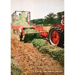 1965 Ad International Harvester Farming Machinery Equipment