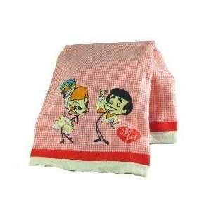 I Love Lucy Lucille Bal Kitchen Stick Figure Towel