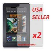 x2 Kindle Fire Screen Protector MATTE Anti Glare NEW
