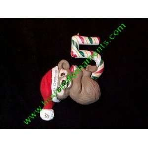 FIFTH CHRISTMAS   TEDDY BEAR   SDB   HALLMARK ORNAMENT