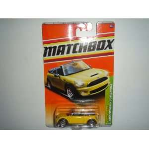 2011 Matchbox Mini Cooper S Convertible Yellow #28 of 100