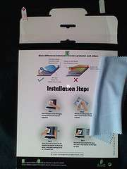 Anti FingerPrint Screen Protector Asus Eee Pad Transformer Prime TF201