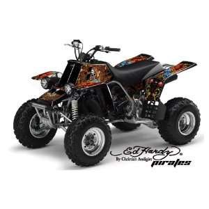 Ed Hardy AMR Racing Yamaha Banshee 350 ATV Quad Graphic Kit   Pirates