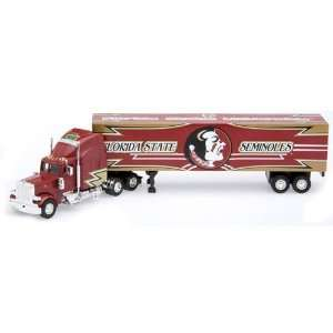 Florida State Seminoles (FSU) Die Cast Collectible Tractor Trailer