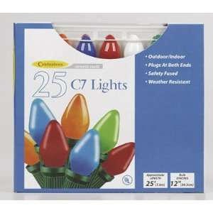 CELEBRATIONS LIGHTING B4BGC2A1 C7 25 INDOOR/OUTDOOR LIGHT