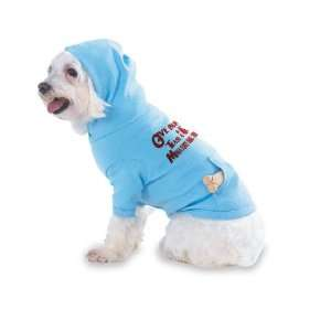 Give Blood Tease a Miniature Bull Terrier Hooded (Hoody) T