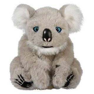 WowWee Alive Polar Bear Cub Plush Robotic Toy in White Toys & Games