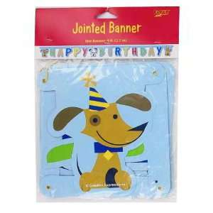 Rescue Pals Large Jointed Happy Birthday Banner