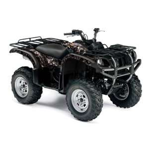 AMR Racing Yamaha Grizzly 660 ATV Quad Graphic Kit   Madhatter Black