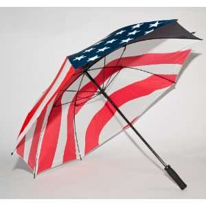 USA Stars And Stripes American Flag Golf Umbrella