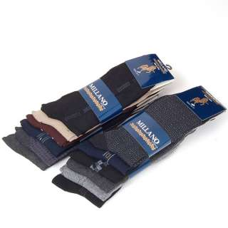 12 Pairs Mens Dress Socks 10 13 High Quality Cotton Material 3