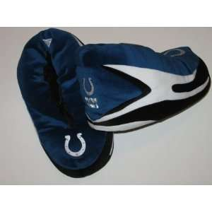 INDIANAPOLIS COLTS Cleat Style PLUSH SLIPPERS with Team