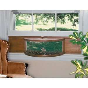 Panoramic In House Window Bird Feeder Patio, Lawn & Garden